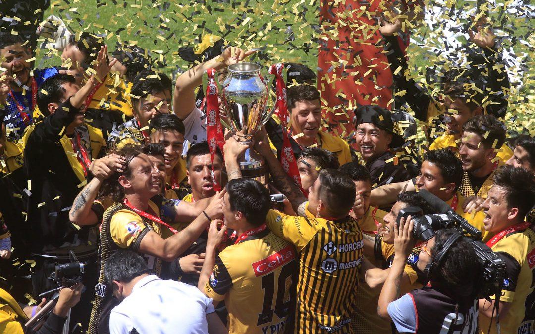 Felicitaciones, campeón: Coquimbo el mejor del torneo Primera B