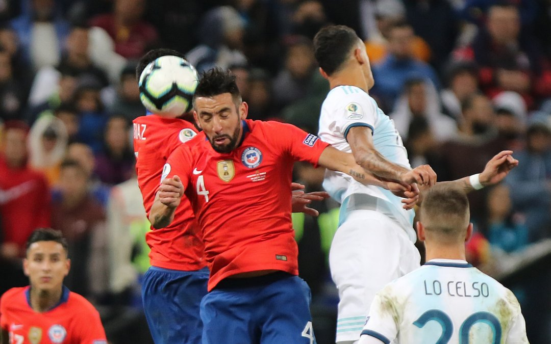 *Fotos* Chile cae frente a Argentina y se queda con el cuarto lugar de Copa América