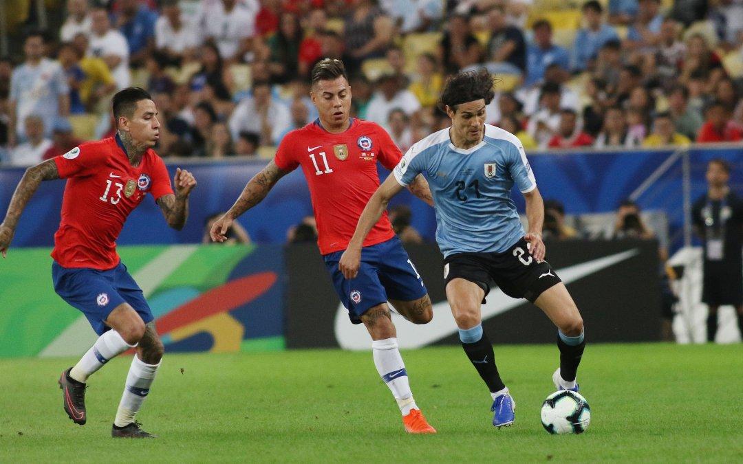 *Fotos* La Roja cae frente a Uruguay en Copa América
