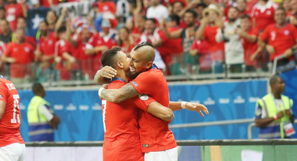 *Fotos* Chile le gana a Ecuador y clasifica a Cuartos de final