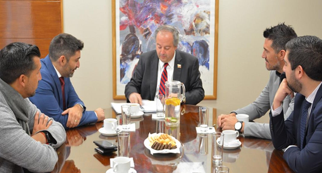 Directiva del Sifup se reúne con ministro del Trabajo
