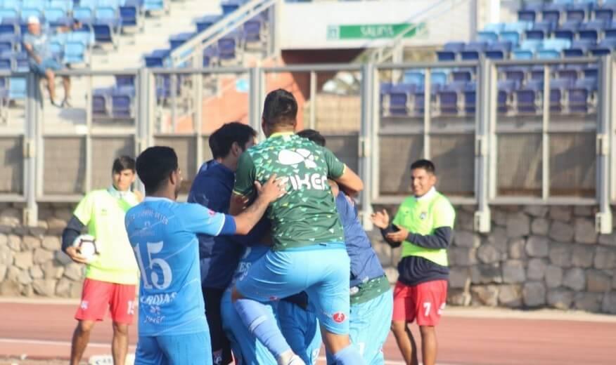 *Segunda División* San Marcos logró su primera victoria en la liguilla de ascenso y se mantiene firme en la cima de la tabla