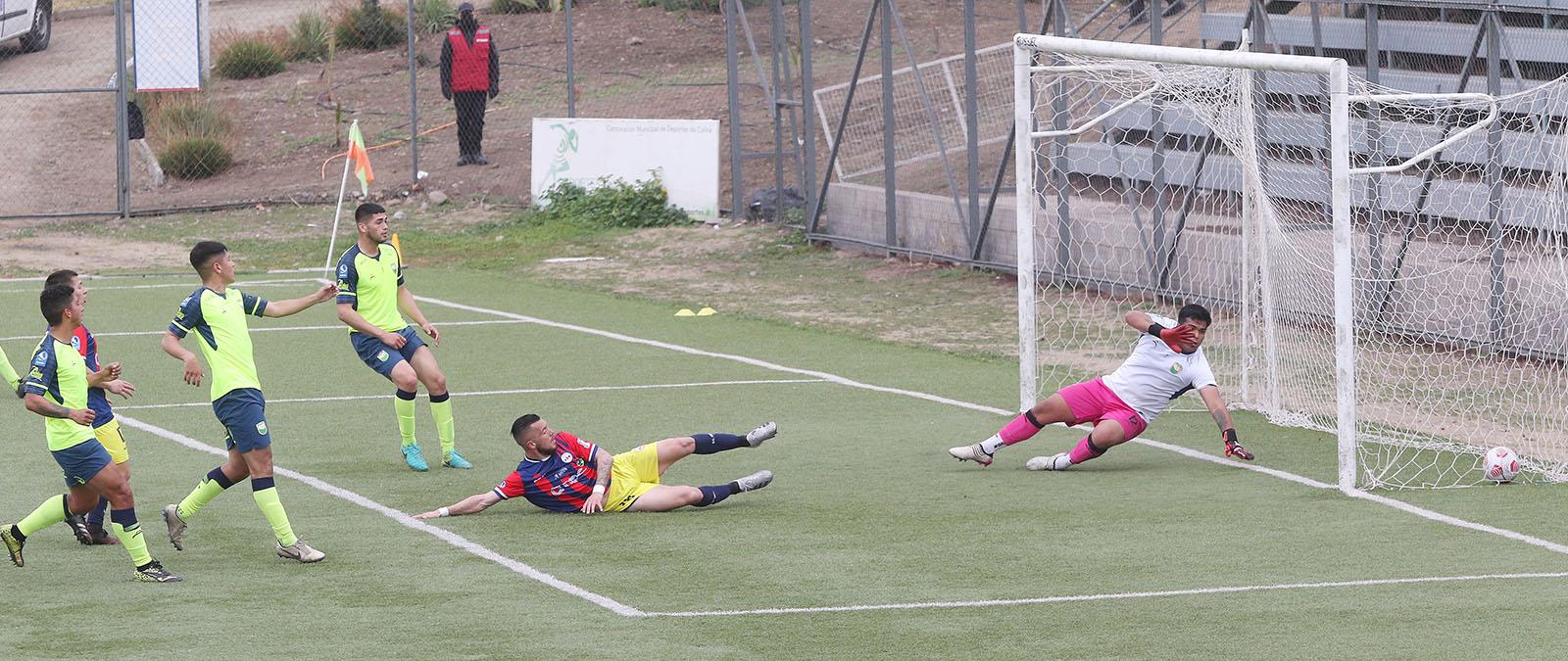 Deportes Iberia venció a Colina y continúa en el liderato