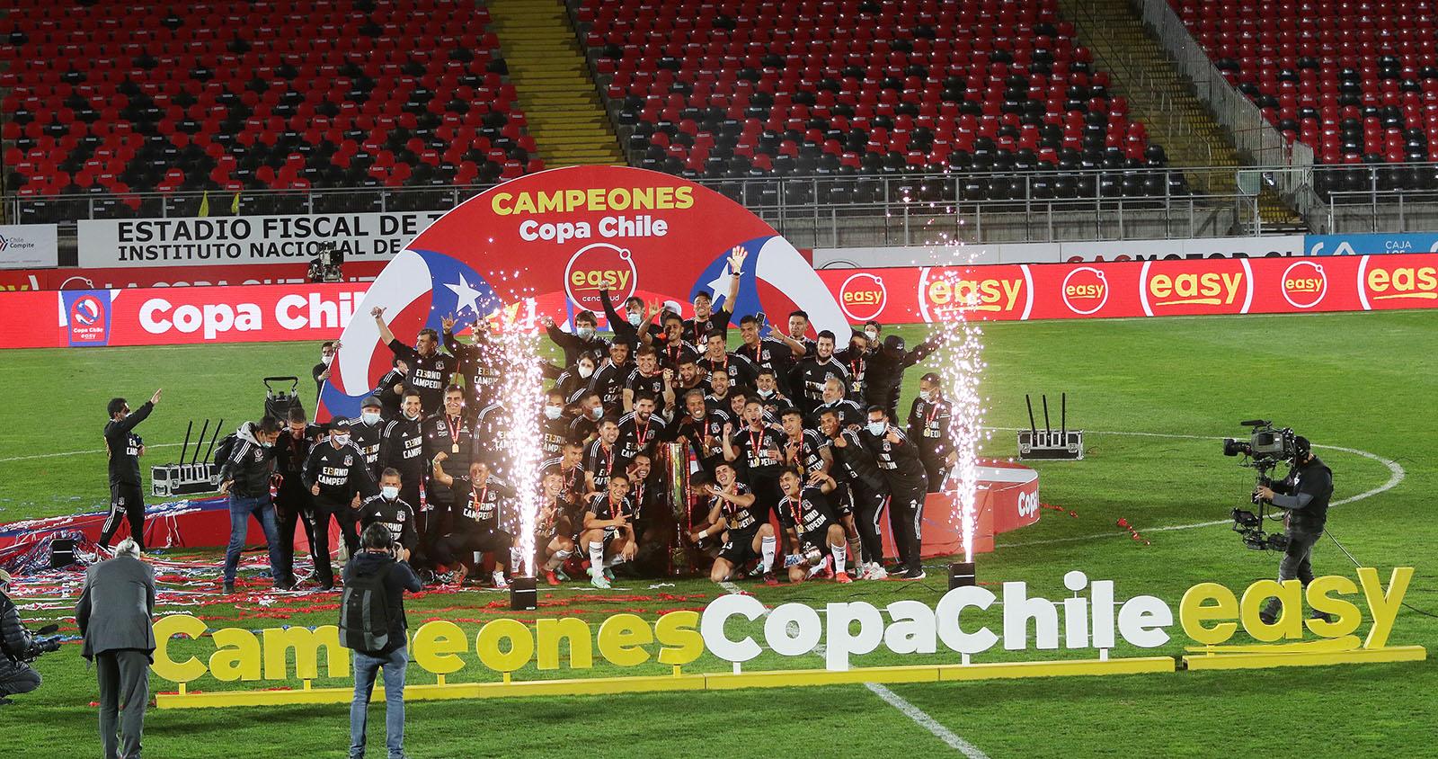 Colo Colo venció a Everton y es el bicampeón de Copa Chile